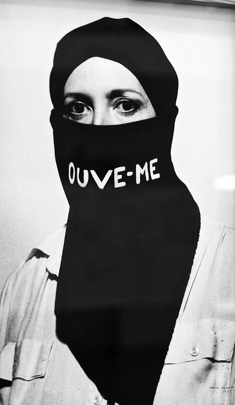 Listen to me [Ouve-me] (1979) - Helena Almeida (1934-2018)