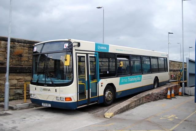 Arriva  North Wales training vehicle