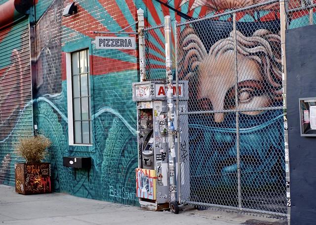 Caged (Street Art, Bushwick Collective #3)