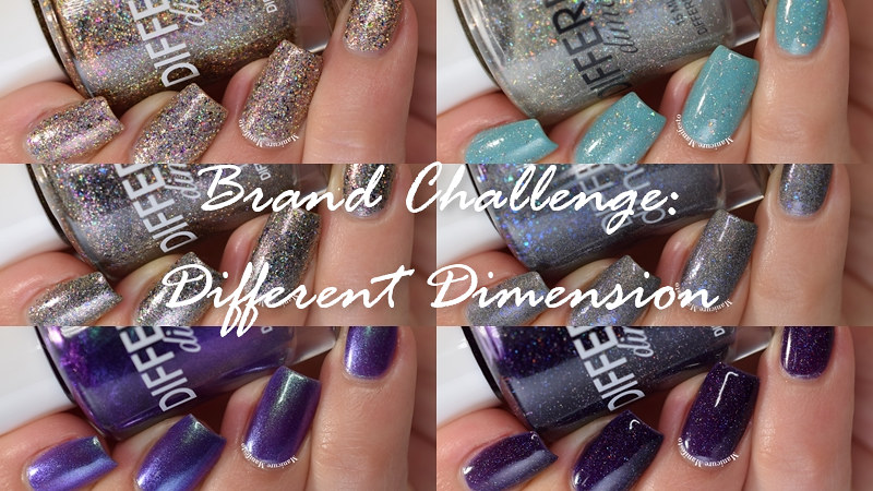 Different Dimension Polish Swatch