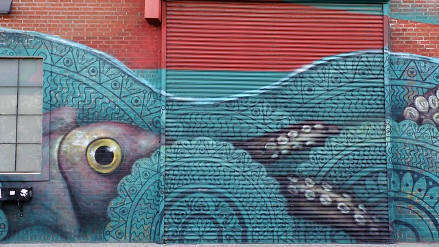 Octopus (The Bushwick Collective)