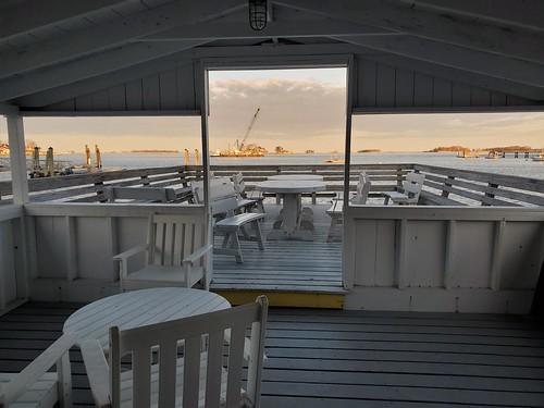 104 deck framedview longislandsound norwalkct rowaytonct rowaytonyachtclubathickorybluff norwalkislands