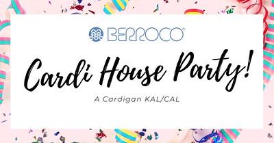Berroco Cardi House Party KAL/CAL