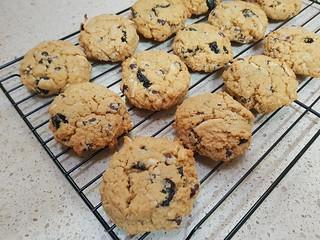 Cherry Oatmeal Chocolate Chip Cookies