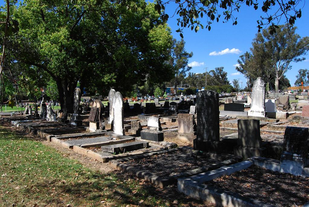 Penrith General Cemetery, Penrith, Sydney, NSW.