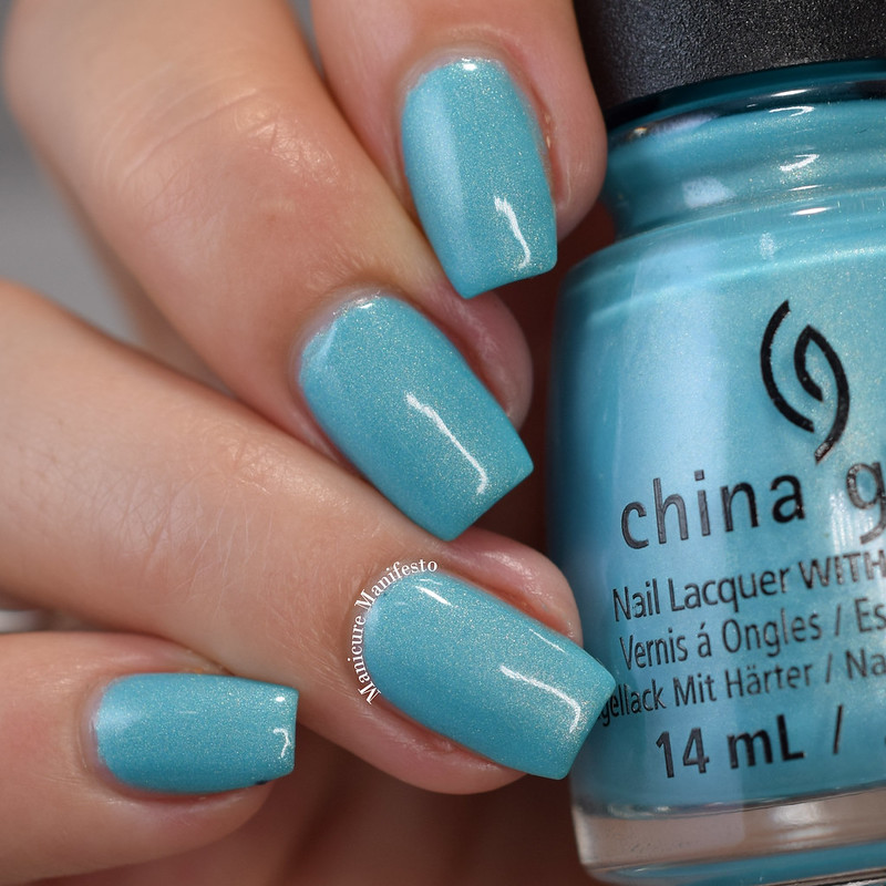 China Glaze What I Like About Blue review