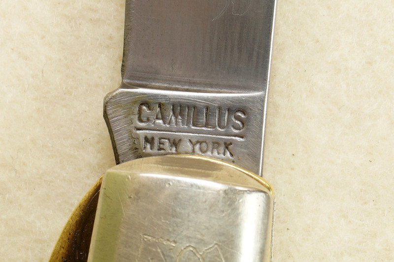 RD29658 Vintage CAMILLUS NEW YORK 2-Blade #27 ELECTRICIAN POCKET KNIFE Military Lineman DSC02479