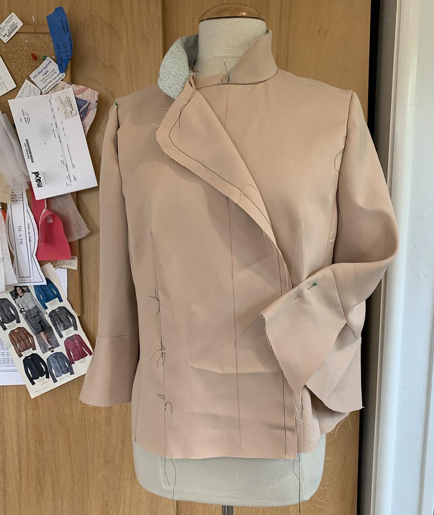 Burda jacket muslin