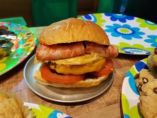 Breakky Burger at Grassfed