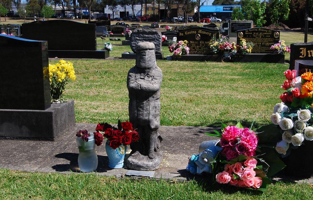Ned Kelly, Penrith General Cemetery, Penrith, Sydney, NSW.