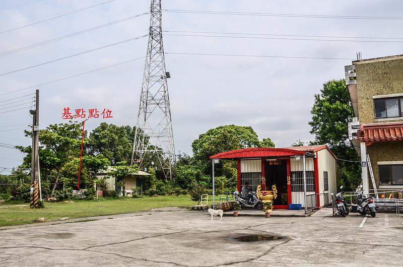 東興庄(頭屋山)總督府土木局水準點點位