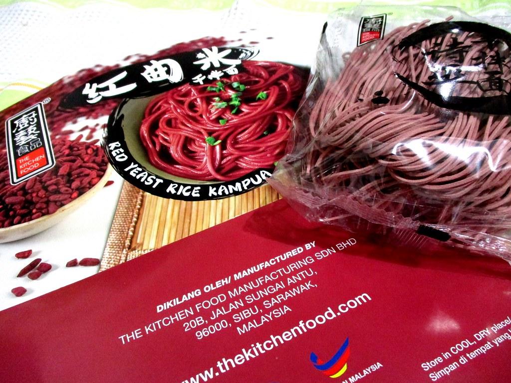 Red yeast rice kampua