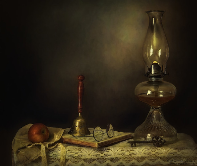 Bell Book And Lamplight