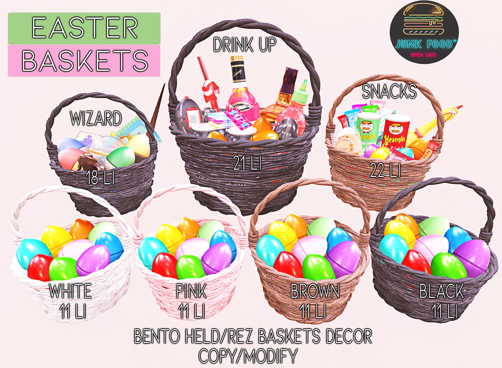 Junk Food – Easter Baskets Ad