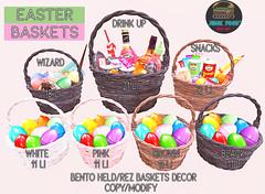Junk Food - Easter Baskets Ad