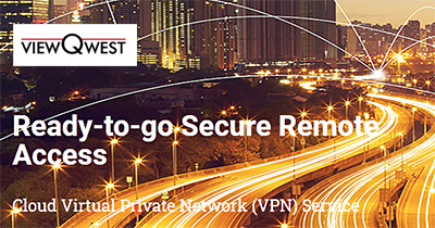 ViewQwest offers various networking solutions for personal and business use.