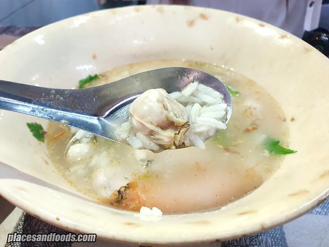 oyster porridge bangkok chinatown