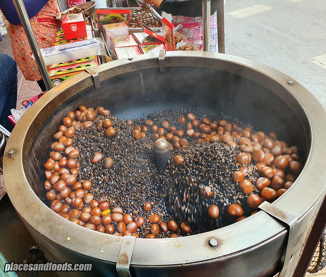 roasted chestnut bangkok chinatown
