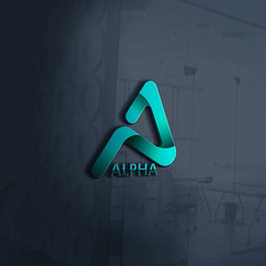 Smart Logo | Alpha Logo Design inspiration