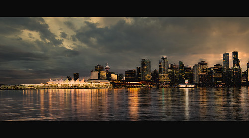 Vancouver Skyline (re-edited)