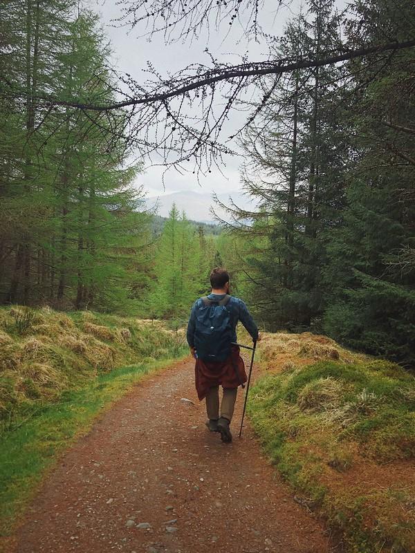 West highland way, Day 4 Crianlarich, May 2019