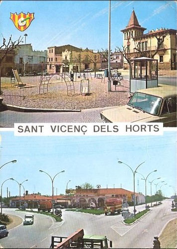 postal San Vicenç dels Horts 1970