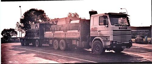 Tractora Scania 112