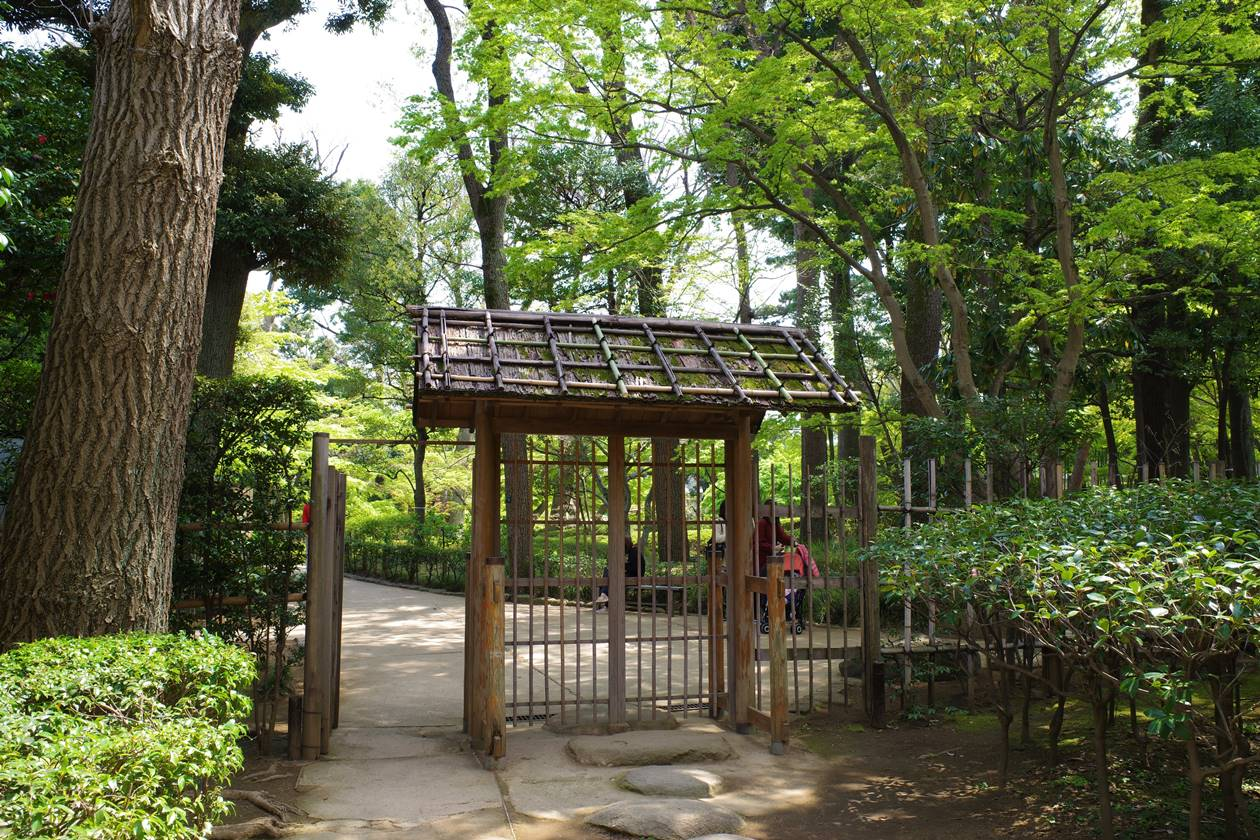 大田黒公園 日本庭園入口