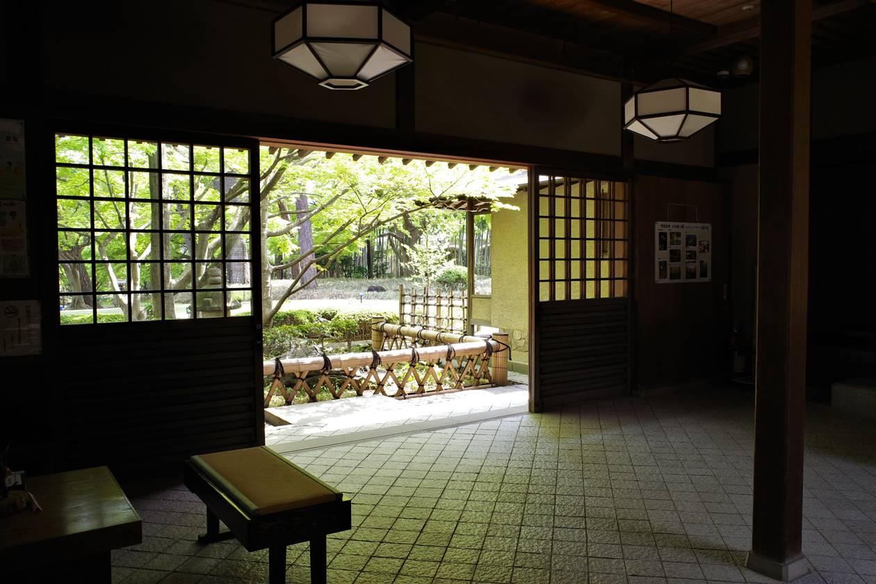 大田黒公園・休憩所