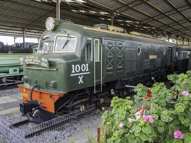 WAGR Diesel Electric Locomotive X 1001 named Yalalonga - built 1954 - see below