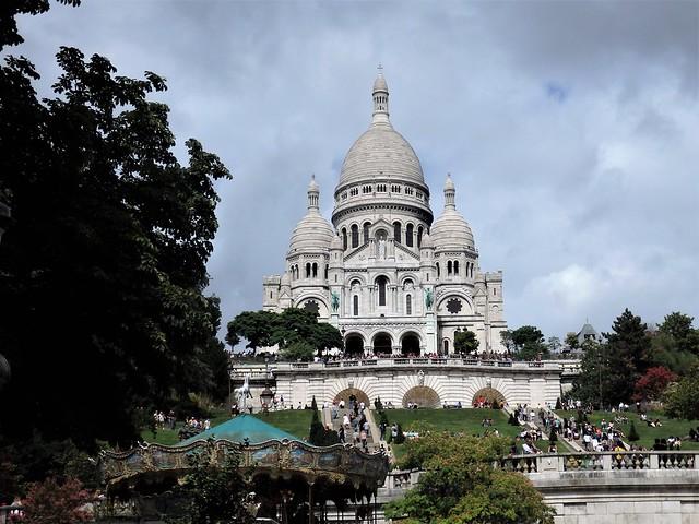 Paris - Basílique du Sacré Coeur de Montmartre