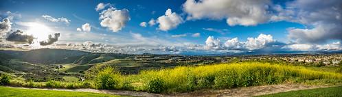 orangecounty california southoc panoramic wideangle landscape lagunaniguel alisoviejo clouds cloudscape day sky