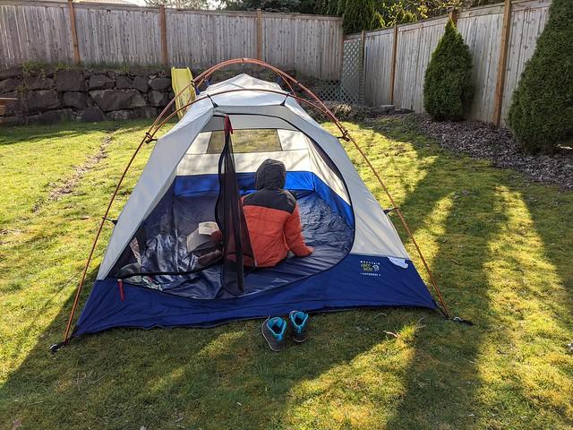 Reading Tent 1