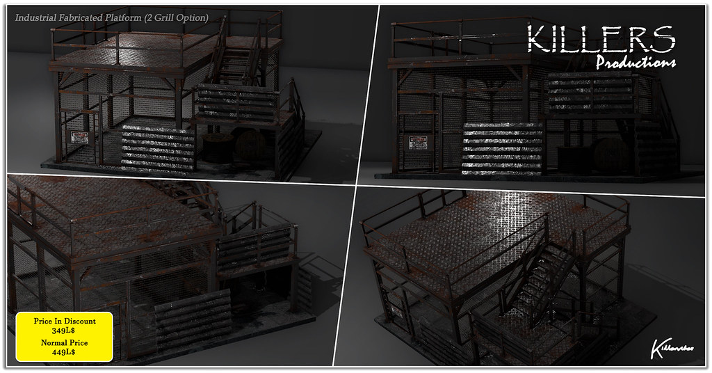 """Killer's"" Industrial Fabricated Platform On Discount @ Equal10 Starts 10th April Till 5th May"