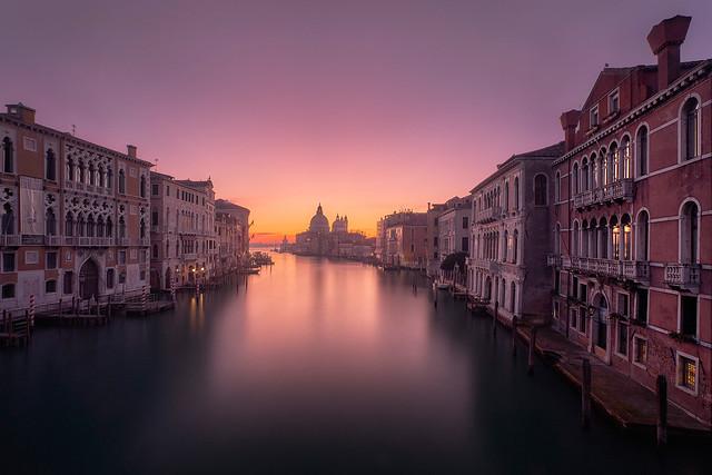 Ponte dell'Accademia sunrise