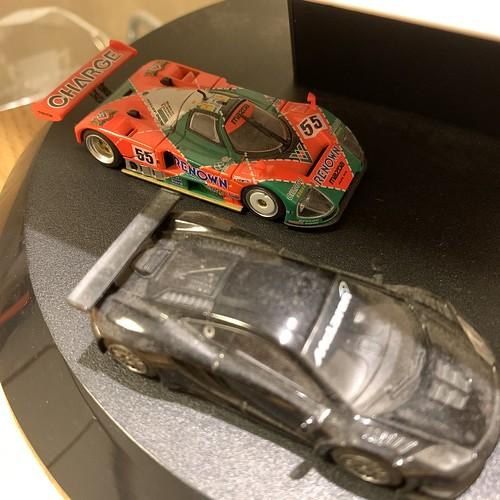 デスクトップのレーシングカー