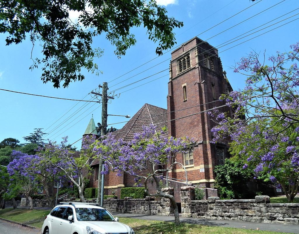 St John's Uniting Church, Wahroonga, Sydney, NSW.