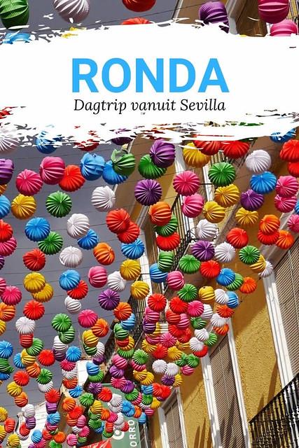 Dagtrip Ronda vanuit Sevilla | Mooistestedentrips.nl