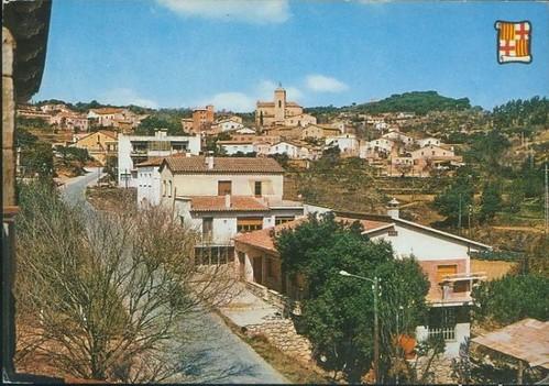 postal de Santa Eulàlia de Ronçana 1974jpg