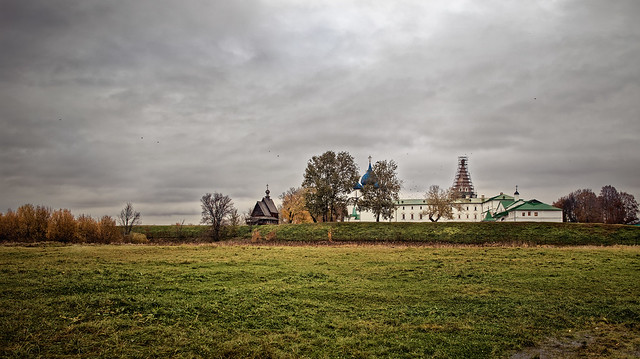 Autumn evening in the Russian province #2
