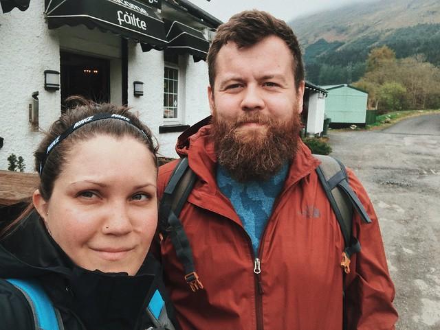 West highland way, Crianlarich, May 2019