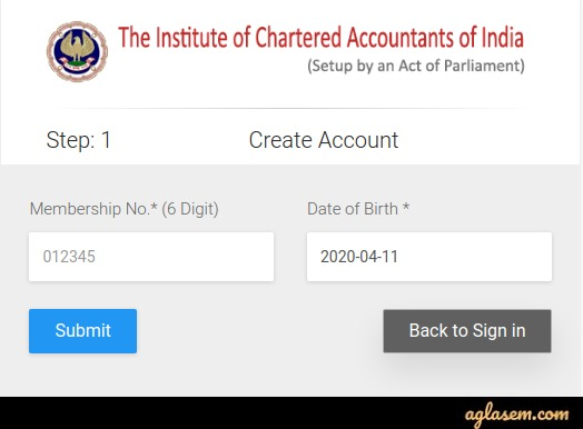 ICAI ISA AT 2020 (Postponed) - Application Form, Eligibility Criteria