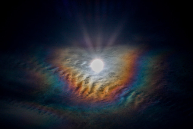 Solar Corona 10:35 BST 11/04/20
