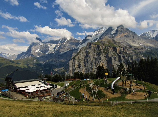 Allmendhubel in Mürren, Switzerland