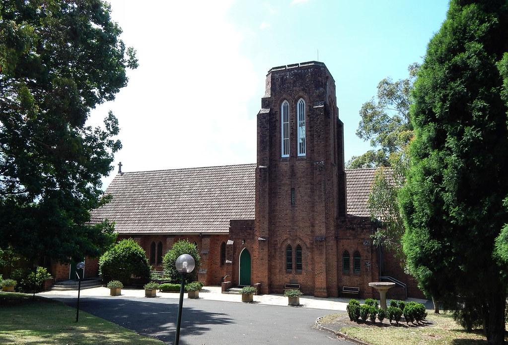 St James Anglican Church, Turramurra, Sydney, NSW.