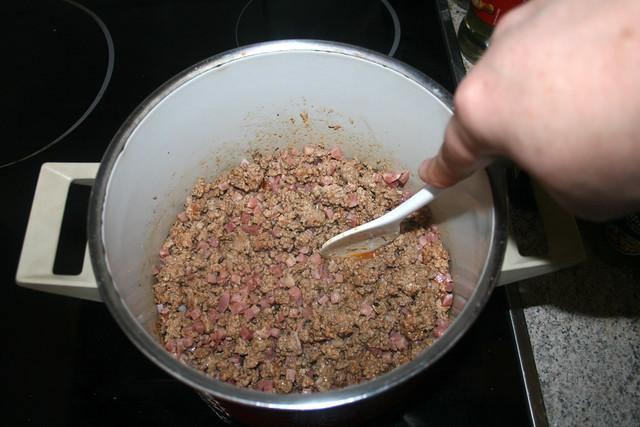 10 - Speck mit anbraten / Braise bacon