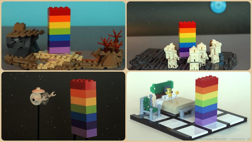 Rainbow Monolith