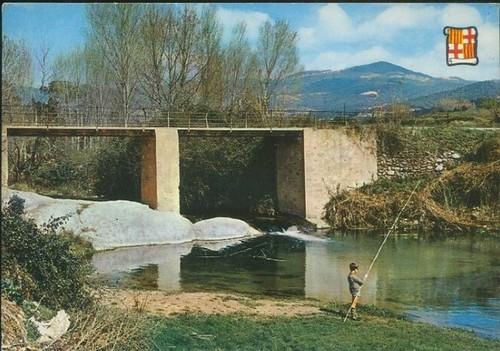 postal riera de Santa Eulàlia de Ronçana