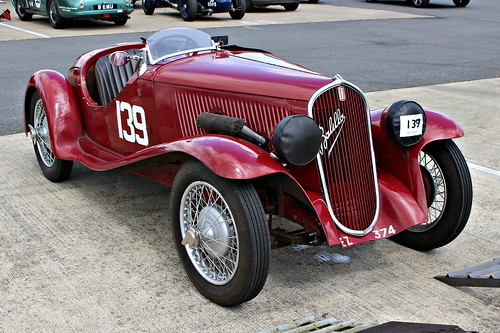 fiat italy italian 1930s 508s balilla sportscar vscc vscc2016 silverstone ez374 toms