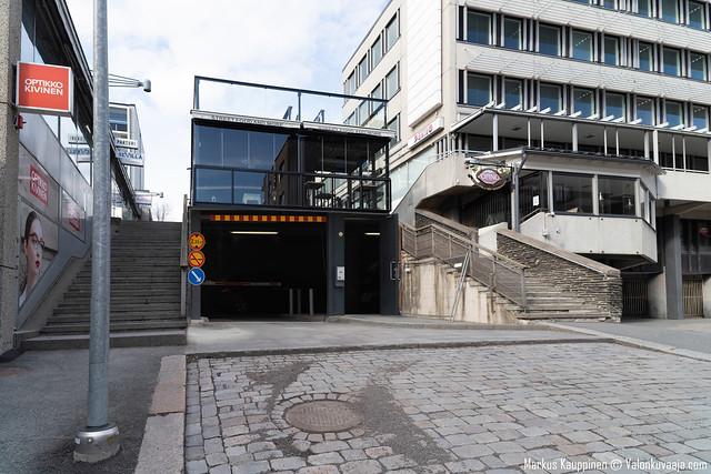 Hämeenlinnan toriparkki. Valokuvaaja: Markus Kauppinen